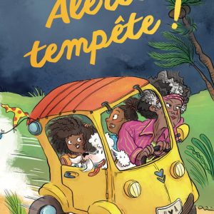 Couverture Alerte Tempête ! de Corinne Boutry - Collection Etincelles - Gulf stream éditeur