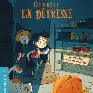 La citrouille du potager chouchoutée pour la fête d'Halloween, a été attaquée. La victime : Loulou, très intriguée. L'enquête est lancée !