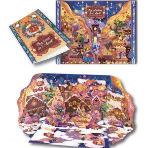 Mon calendrier de l'Avent - Quelles gourmandises pour Noël ? - Pour Noël 2021, que dirais-tu d'un tour du monde gourmand ?