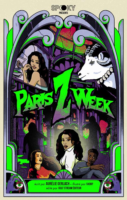Une épopée parisienne haletante, mêlant zombies et cosmétique, orchestrée par la plume délicieusement acerbe d'Aurélie Gerlach.